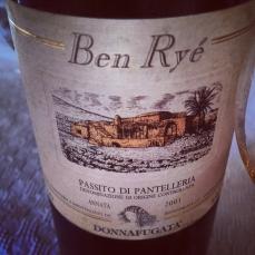 Ben Ryé, Visit to Donnafugata & Pantelleria