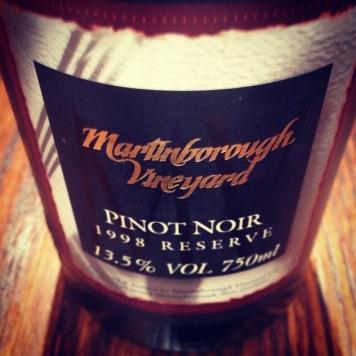 Martinborough Pinot Noir Tasting, London, UK