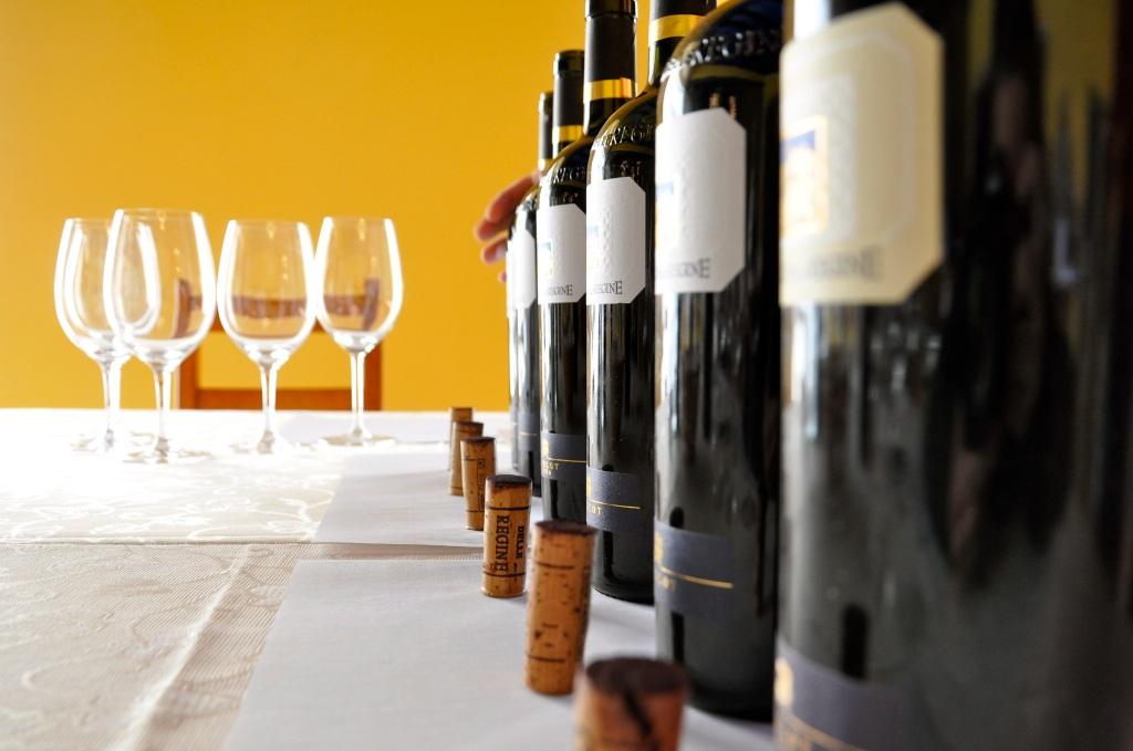 Vertical Tasting at Castello delle Regine